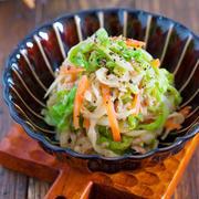 お湯をかけるだけ♪抱えて食べたい♪『白菜と切り干し大根のうまナムル』