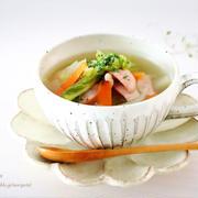 <白菜食べ尽くしレシピ> パパッ♪と簡単♡具沢山 白菜スープ