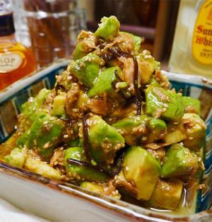 【レシピ】塩こんぶとごま油で!ツナ缶とアボカドのナムル!