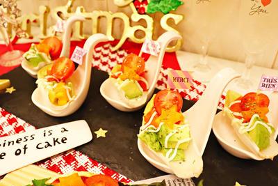 パーティーの前菜に☆器も食べられるチコリーボート