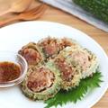 お弁当やおつまみに♪ゴーヤの肉詰めハニーマスタードソース by kaana57さん