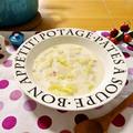 白菜と大根の真っ白ミルクスープ♪