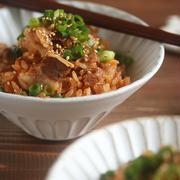 【レシピ】牛飯。←具材ひとつ&炊飯器任せ!