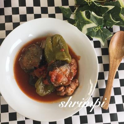 クローブ香る♡鶏肉と野菜のトマト煮込み