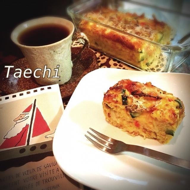 忙しい朝に簡単cake saléとシフォンケーキ