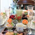 【レシピ】ハムコーンベーグル。と 朝ごはん。と 食卓を囲む縁。