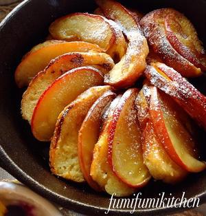 カラメルりんごのフレンチトースト