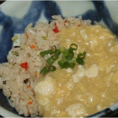 6月17日  炒飯の粟米湯風かけ