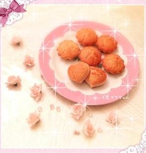簡単・卵なしHMでイチゴ豆乳のカップケーキ☆レシピ