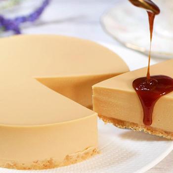 キャラメルレアチーズケーキ