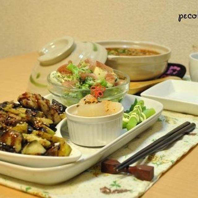 ☆おつまみプレート&味噌キムチ鍋で~9日夜ご飯☆