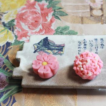 3月23日 桜の練り切り