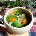 たっぷりレタスのスープ