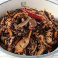 乾物を洋風にアレンジ常備菜☆ヒジキとツナのピリ辛トマト煮