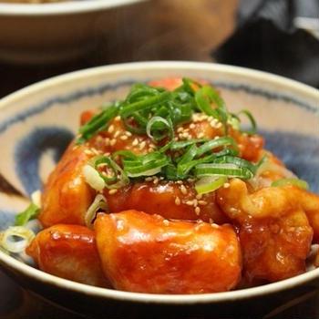 節約最強食材「鶏胸肉」のケチャップ炒め