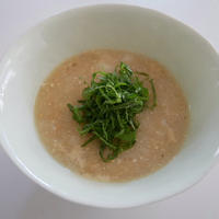 長芋のお味噌汁