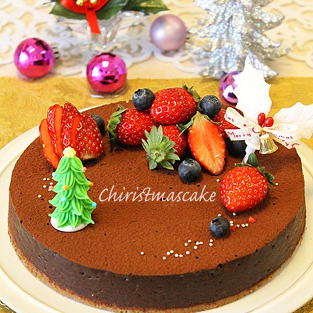 濃厚チョコタルト☆クリスマスパーティーコーディネート