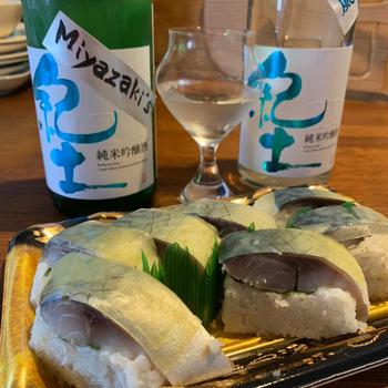 ええっ!!最愛の鯖寿司にであった??
