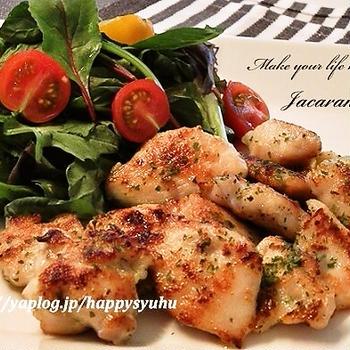 鶏胸肉☆バジルチキン