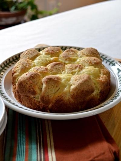 トリプルチーズのモンキーブレッド