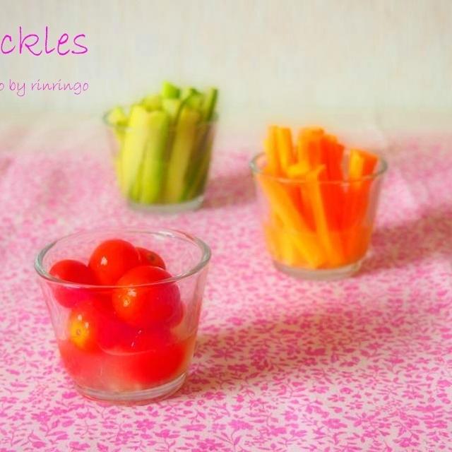 3color's pickles~3色の鮮やかピクルス~