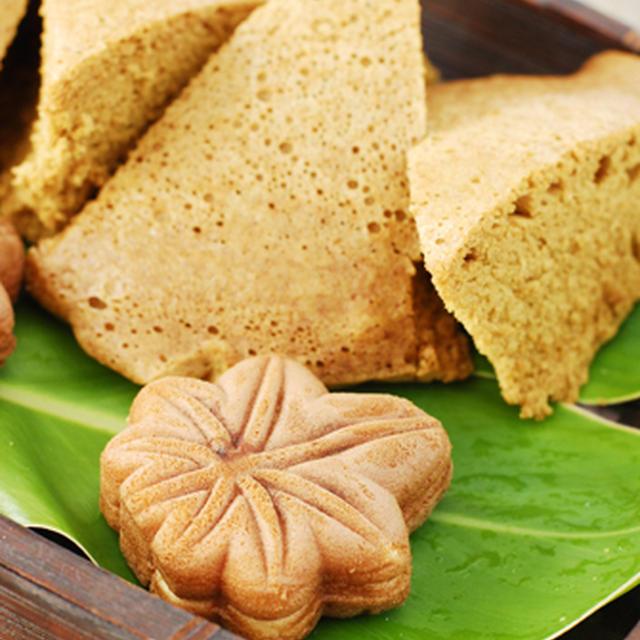 15分でふんわり黒糖蒸しパン(ふくらかん)