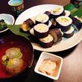 今年の恵方は西南西!巻き寿司と鰯缶のつみれ汁♪ by みなづきさん