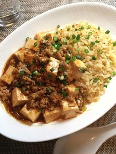 炒飯レシピ【麻婆豆腐チャーハン】 中華料理2トップによる最強タッグ!その作り方。