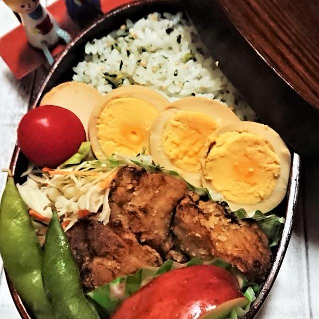 【息子弁当】常備品の卵で美味しいお弁当おかず!【手抜きながらもひと手間弁当】