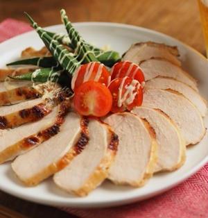 鶏むね肉のヨーグルト焼き、ヨーグルトでしっとり柔らか!オーブントースターで楽ちん料理