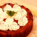 ベイクドチーズケーキ♪ちょこっとキャラデコ