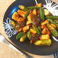 混ぜ焼きこんがり。香ばし柚子胡椒のマヨタンドリーベジ(糖質4.9g)