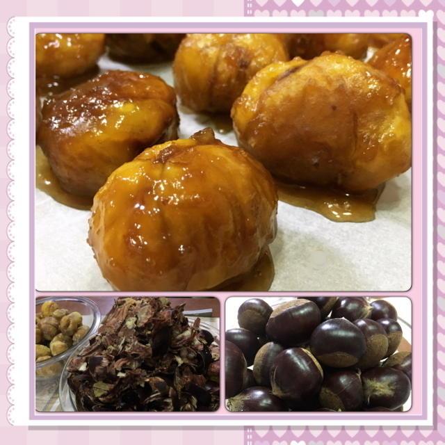 秋の味覚!栗の茹で方と、茹で栗のキャラメリゼ風(レシピ付)
