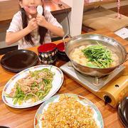 はやパパが晩御飯作ってくれました〜!!
