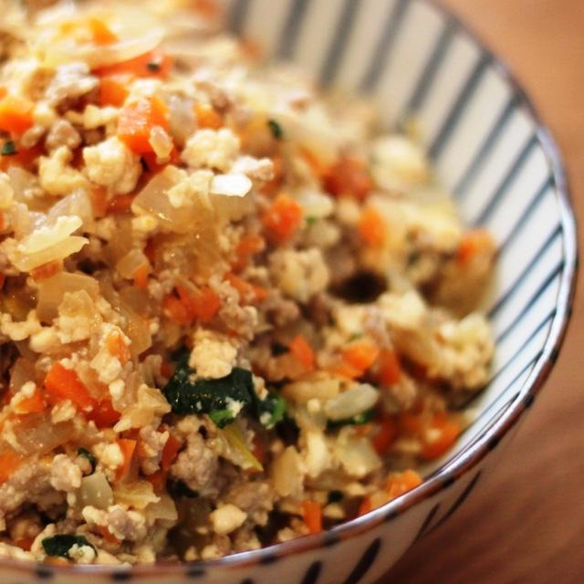 【砂糖不使用】野菜たっぷり!簡単炒り豆腐