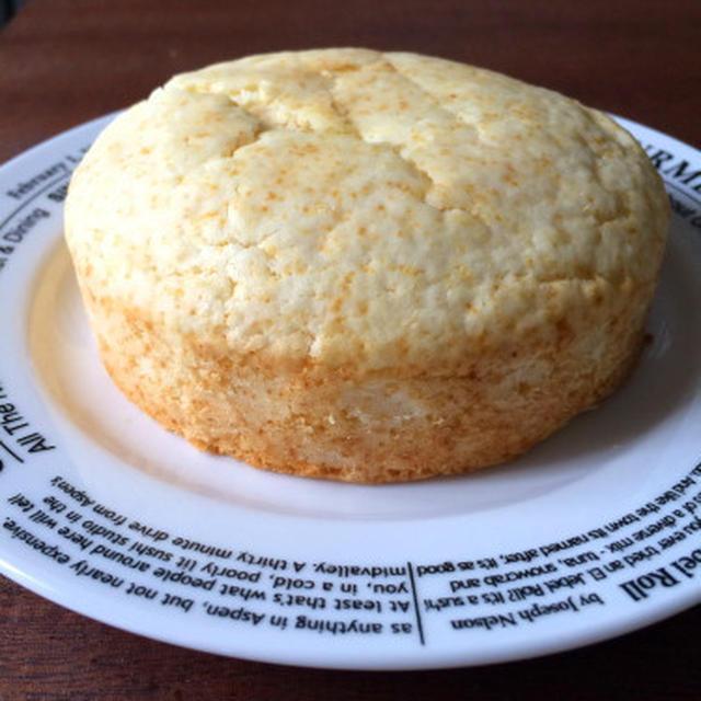 【簡単!!焼くまで5~10分】卵・乳製品不使用のスポンジ風ケーキ
