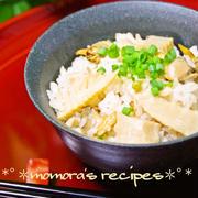 塩麹で簡単コク旨♪あさりとお揚げさんの筍ご飯&銀座カフェパリウスタのザッハトルテ