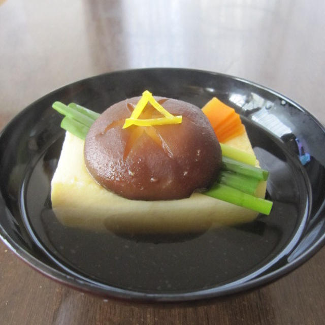 卵豆腐の椀物