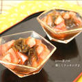 生姜風味が決め手♪もずくとトマトの酢の物