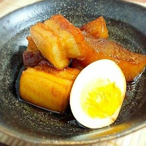 フライパンで簡単!ツヤツヤ&照り照りがたまらない豚の角煮レシピ