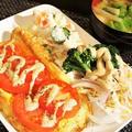 ■簡単な朝ごパン【フレンチトースト/具沢山野菜の味噌汁他。】