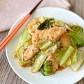 【レシピ】鶏むね肉とキャベツの手羽先風甘辛炒め【材料2つで簡単】