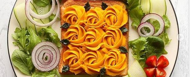 花のある食卓を!「#バラ絞り」でお料理のワンポイントを