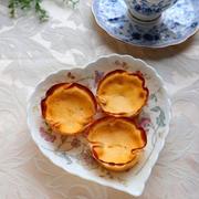 【スパイス大使】バニラの香りで優しい甘さ☆餃子の皮のヘルシーエッグタルト