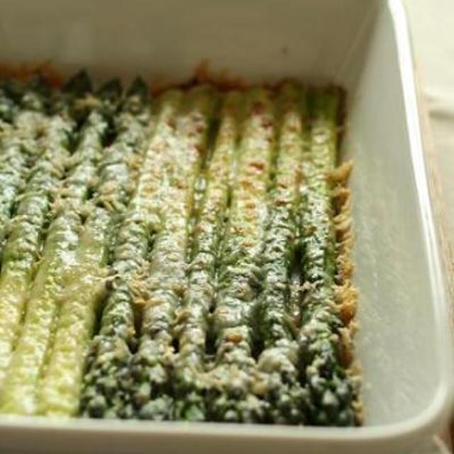 グリーンアスパラのオーブン焼き