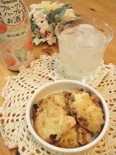 【フルーツとハーブのお酒】とフルグラチーズクッキー ☆おうちのみ大使☆