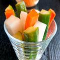 ポリポリといくらでも食べられる野菜スティック
