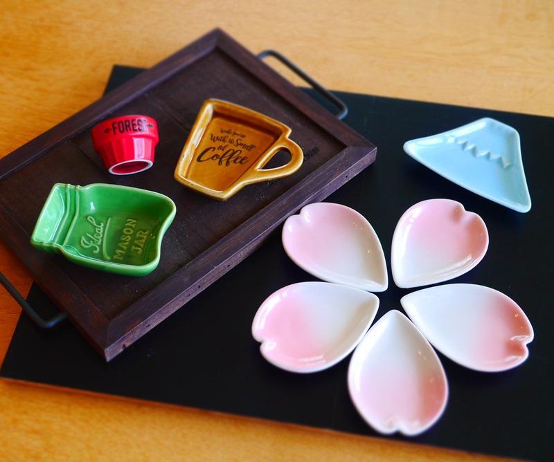 100円ショップで見つけた♪春の「おしゃれ豆皿」がかわいすぎる!メイソンジャー風も!