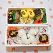 お魚弁当とおうち夜ご飯/My Homemade Lunchbox and Dinner/ข้าวกล่องเบนโตะและอาหารมื้อดึกที่ทำเอง