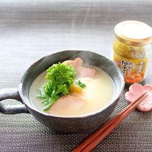 糖質オフ☆柚子こしょう香るモッツァレラ和風スープ